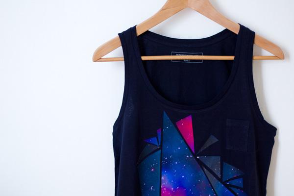 Tee-shirt Galaxie - DIY