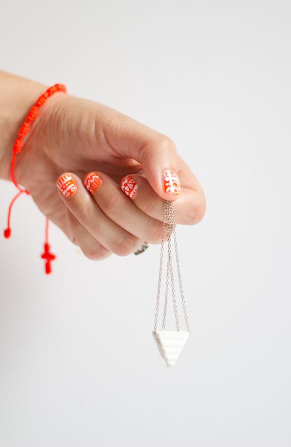 5 octobre 2012 / By Laeti / accessoires, bijou diy, bijoux, diy bijoux,  diy,mode, do,it,yourself, fimo, Les DIY de l\u0027été, minimaliste, pate fimo /