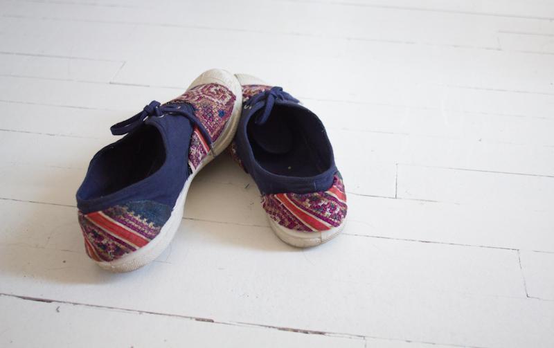 67e4b15c5ec92e 15 juillet 2013 / By Laeti / bensimon, chaussures, custo de bensimon, diy  chaussures, diy-mode, do it yourself mode, do-it-yourself, Les DIY de  l'été, ...