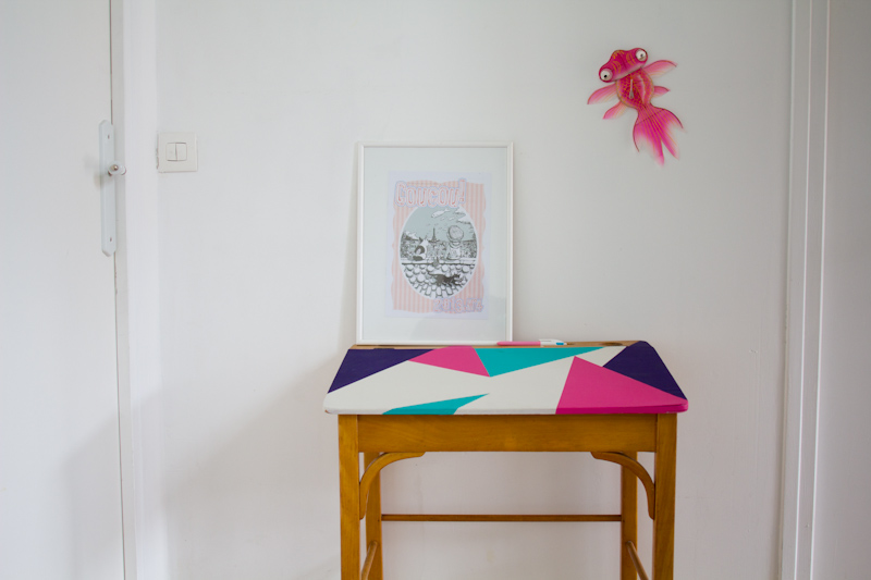 Relooker un bureau d'enfant avec de la peinture