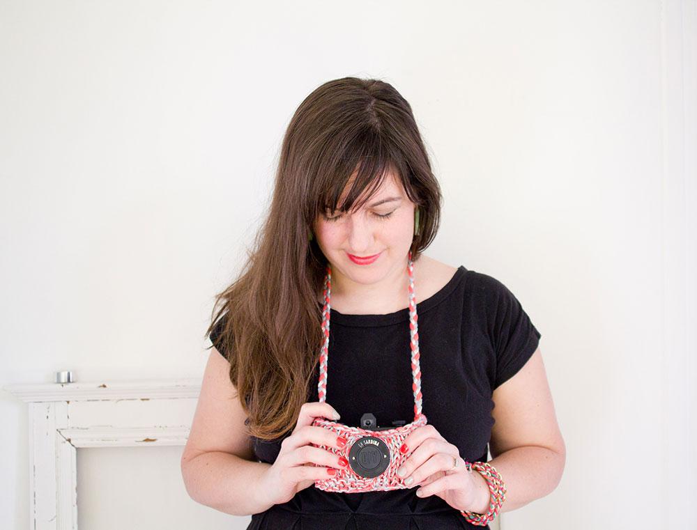 DIY : etui pour appareil photo Lomo Sardina