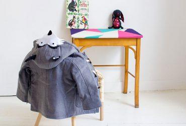 DIY-manteau-loup-vert-cerise-2