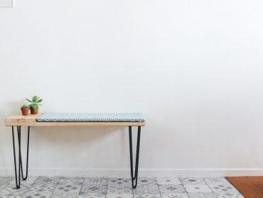 DIY vertcerise banquette scandinave