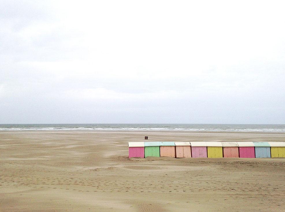 Belle plage du nord de la France : Berck