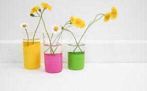 3 petits vases DIY hyper faciles à faire