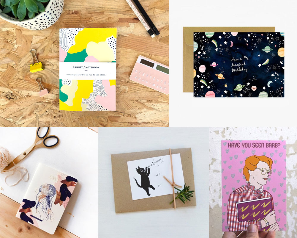 Papeterie made in France : sélections shopping Etsy