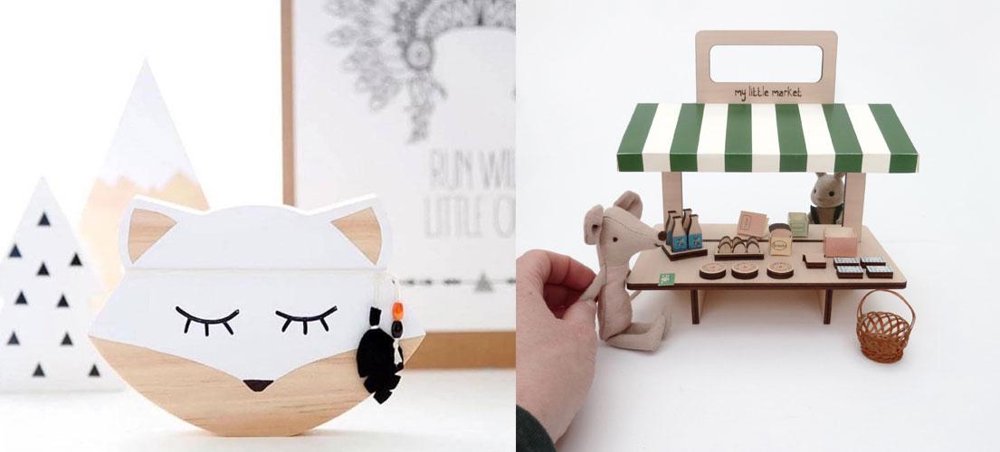20 jouets en bois de créateurs made in France à découvrir