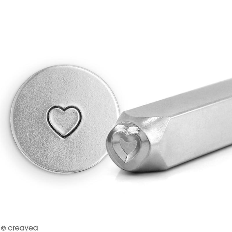 Tampon à graver en métal