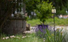 Bougeoir solaire pour jardin
