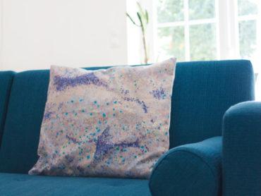 Idée couture facile : la housse de coussin