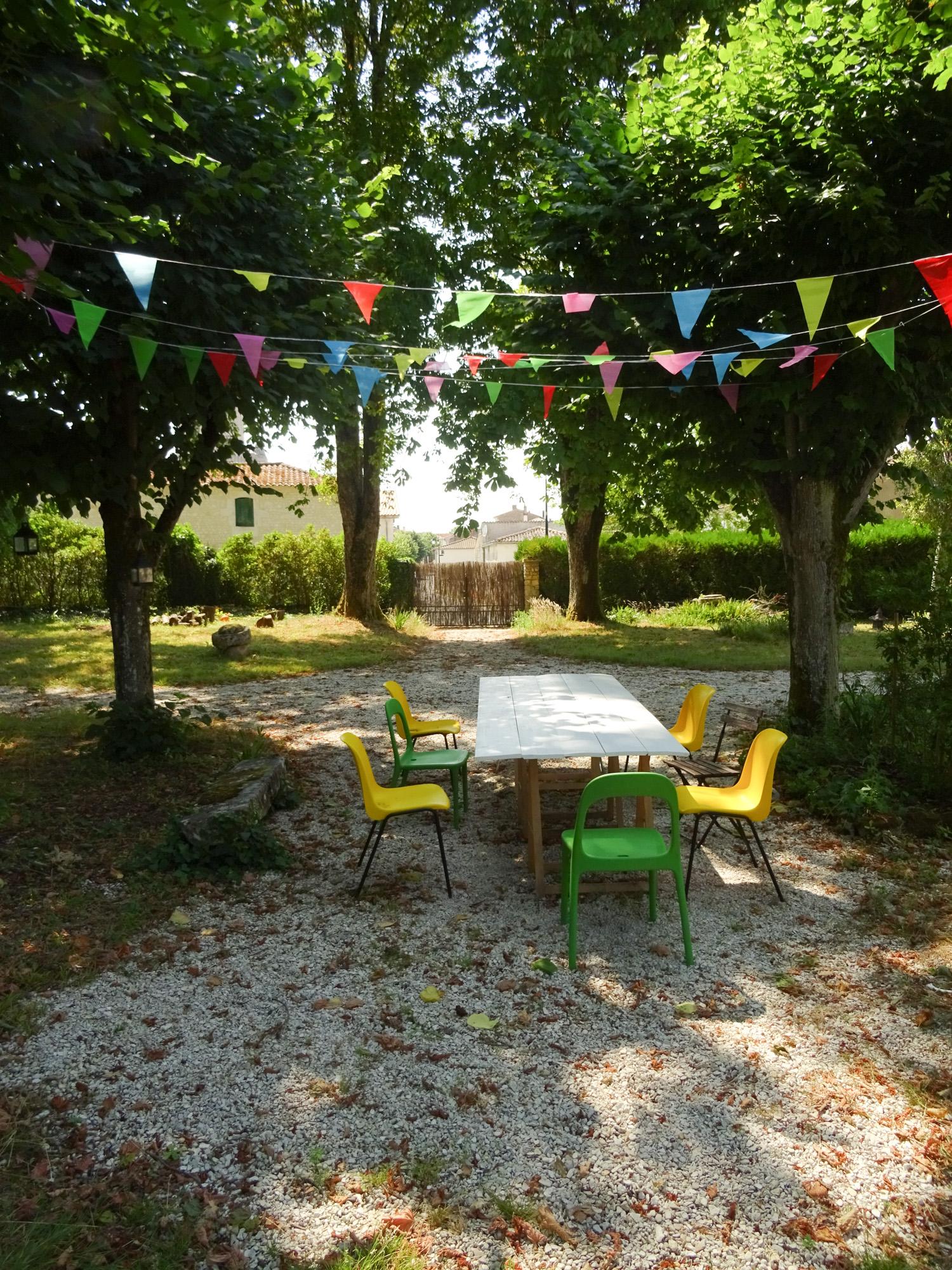 Grande table pour le jardin DIY