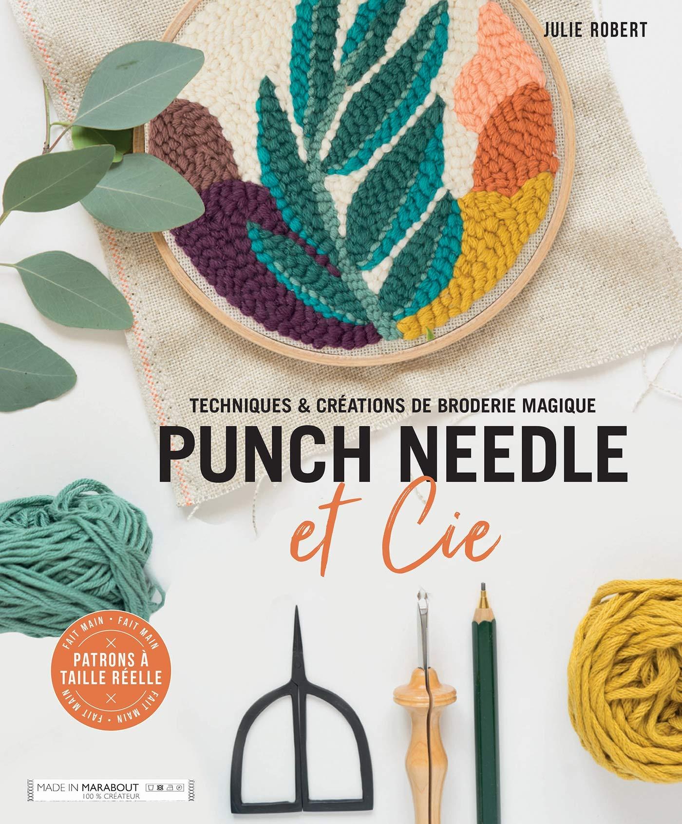 Livre pour apprendre la punch needle