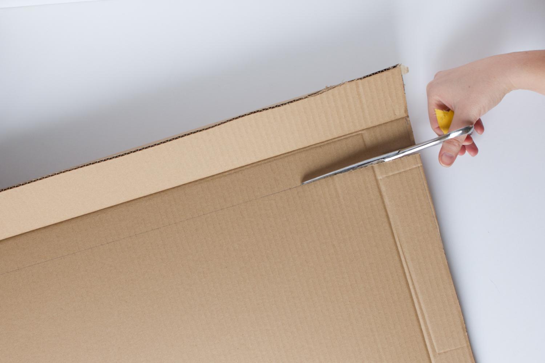 Récupération carton pour bricolage enfant