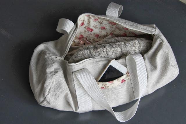 Coudre un sac de sport DIY