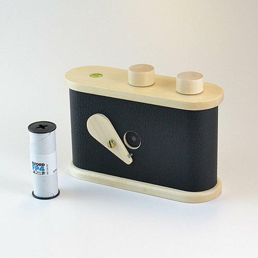 Caméra sténopé en bois made in France